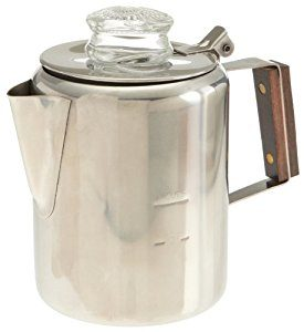 Tops 55702 Rapid Brew Stovetop Coffee Percolator Stainless Steel 2 3 Cup