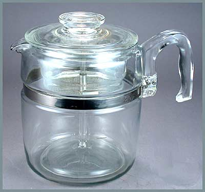 Vintage Pyrex Glass Percolator Best Coffee Percolators